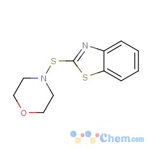 CAS No:102-77-2 4-(1,3-benzothiazol-2-ylsulfanyl)morpholine