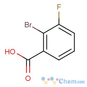 CAS No:132715-69-6 2-bromo-3-fluorobenzoic acid