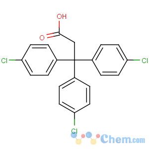 CAS No:2168-06-1 3,3,3-tris(4-chlorophenyl)propanoic acid