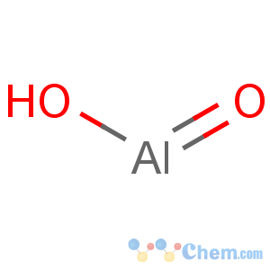 CAS No:24623-77-6 hydroxy(oxo)alumane