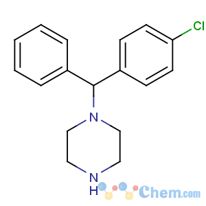 CAS No:303-26-4 1-[(4-chlorophenyl)-phenylmethyl]piperazine
