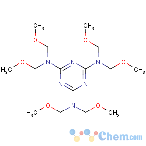 CAS No:3089-11-0 2-N,2-N,4-N,4-N,6-N,6-N-hexakis(methoxymethyl)-1,3,5-triazine-2,4,<br />6-triamine