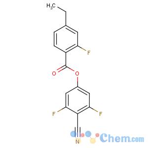 CAS No:344749-29-7 (4-cyano-3,5-difluorophenyl) 4-ethyl-2-fluorobenzoate
