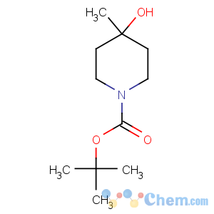 CAS No:406235-30-1 tert-butyl 4-hydroxy-4-methylpiperidine-1-carboxylate