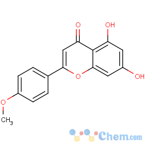 CAS No:480-44-4 5,7-dihydroxy-2-(4-methoxyphenyl)chromen-4-one