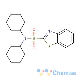 CAS No:4979-32-2 N,N-dicyclohexyl-1,3-benzothiazole-2-sulfonamide