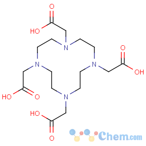 CAS No:60239-18-1 2-[4,7,10-tris(carboxymethyl)-1,4,7,10-tetrazacyclododec-1-yl]acetic<br />acid