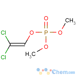 CAS No:62-73-7 2,2-dichloroethenyl dimethyl phosphate