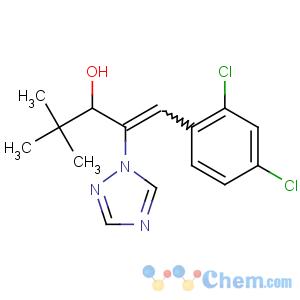 CAS No:83657-24-3 (E)-1-(2,4-dichlorophenyl)-4,4-dimethyl-2-(1,2,<br />4-triazol-1-yl)pent-1-en-3-ol