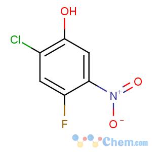 CAS No:84478-75-1 2-chloro-4-fluoro-5-nitrophenol