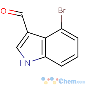 CAS No:98600-34-1 4-bromo-1H-indole-3-carbaldehyde